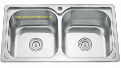 Chậu rửa chén inox Erowin 10450S