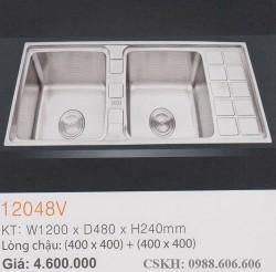 Chậu rửa chén inox SUS304 12048V